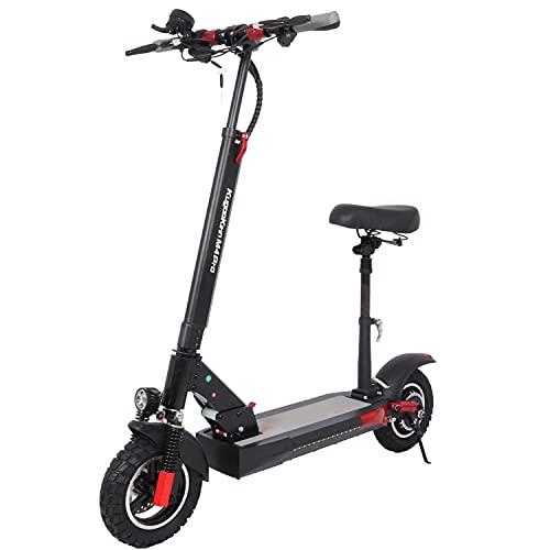 Patinete Electrico Adultos con Asiento - 500W Motor 45 km/h Potente Scooter...