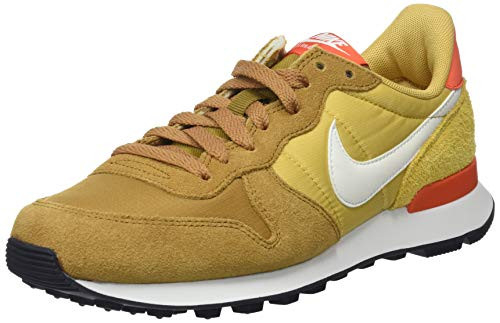 Nike Damen Internationalist Sneakers, Mehrfarbig (Muted Bronze/Summit White/Wheat Gold 207), 40 EU