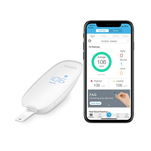 iHealth Wireless Smart Gluco-Monitoring System for Apple and Android