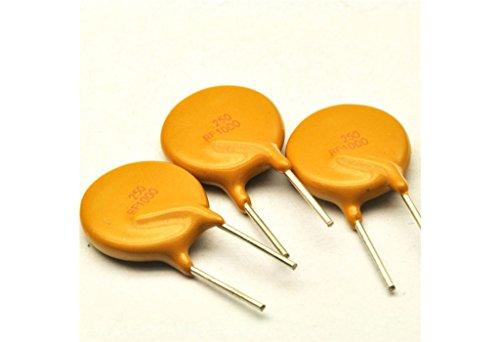 10pcs PPTC RF1000 Resettable fuse TRF250-1000 250V 1A 1000MA