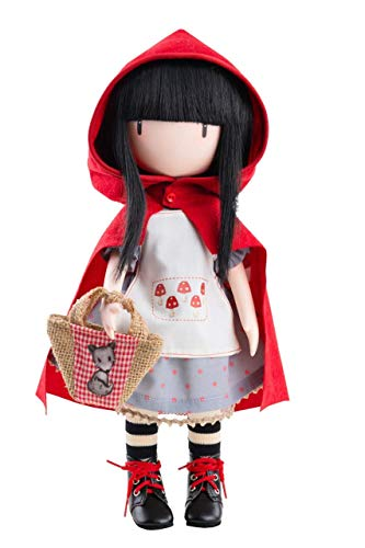 Paola Reina Bambola Gorjuss Little Red Riding Hood 32 CM 4917