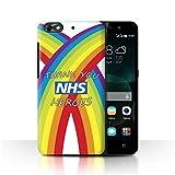 Stuff4 Phone Case for Huawei G Play Mini NHS Rainbow Thank