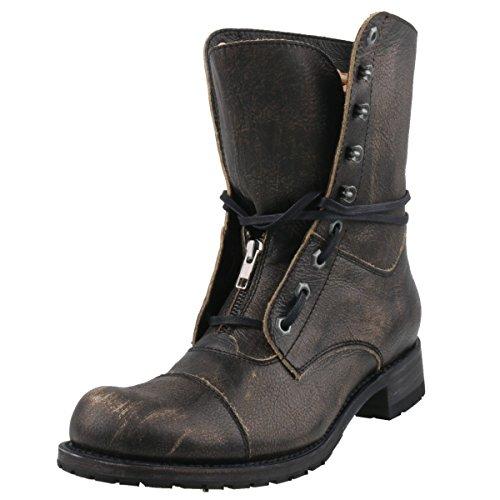 Sendra heren veterlaarzen 12334 grijs, schoenmaat: EUR 43
