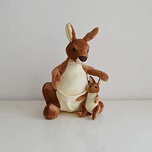 N-K Adorable Canguro de Peluche para mamá y Aproximadamente 30 cm.