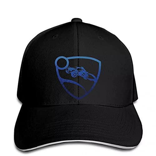 OEWFM Gorra de béisbol Mark Cap BB Cap Print Gorra de béisbol Hombre Rocket League Hombre Azul Premium Snapback Hat Peaked Regalo