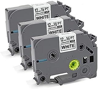 互換 ブラザー ピータッチテープ 12mm 白 黑文字 ブラザー工業 TZe TZ テープ TZe-231 TZ-231 長さ8メートル 互换 ブラザーラベルライター p-touch cube PT-J100 PT-D210 PT-H100 P...