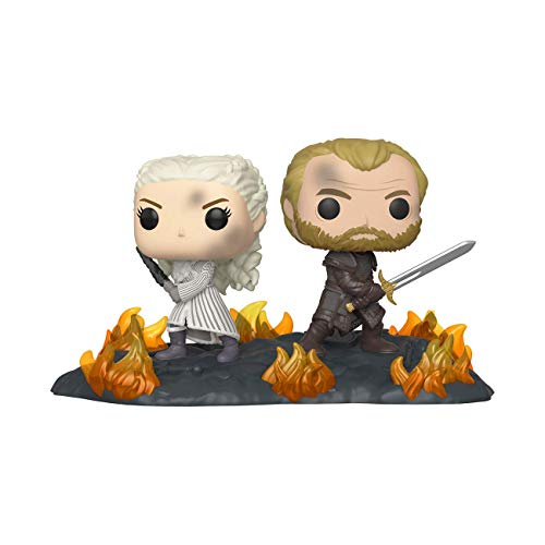 Funko Pop! Movie Moments: The Game Of Thrones - Daenerys & Jorah At The Battle Of Winterfell #86