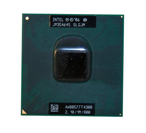 Intel Pentium Dual-Core T4300 SLGJM 2.1GHz 1MB Mobile CPU Processor Socket P 478-pin