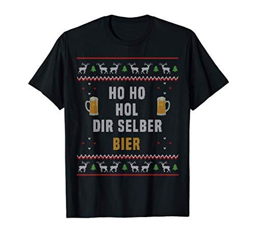 Ho Ho Hol mir mal ein Bier Konter I Ugly Christmas T-Shirt