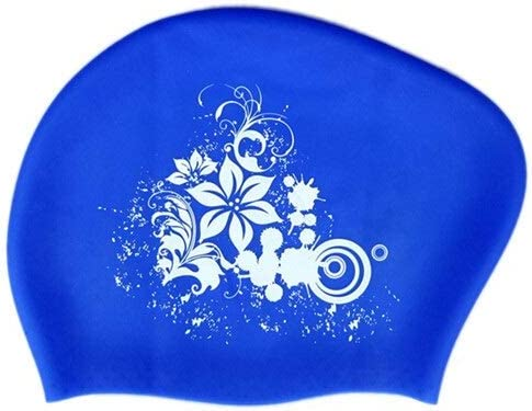 Max 87% OFF feichang 100% Silicone Swimming Cap Long Women's Choice Hair Waterp for