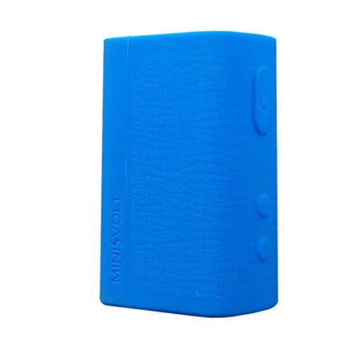 VAMPCASE Silikon Hülle für COUNCIL OF VAPOR MINI VOLT 40W Schutzhülle Case - Blau