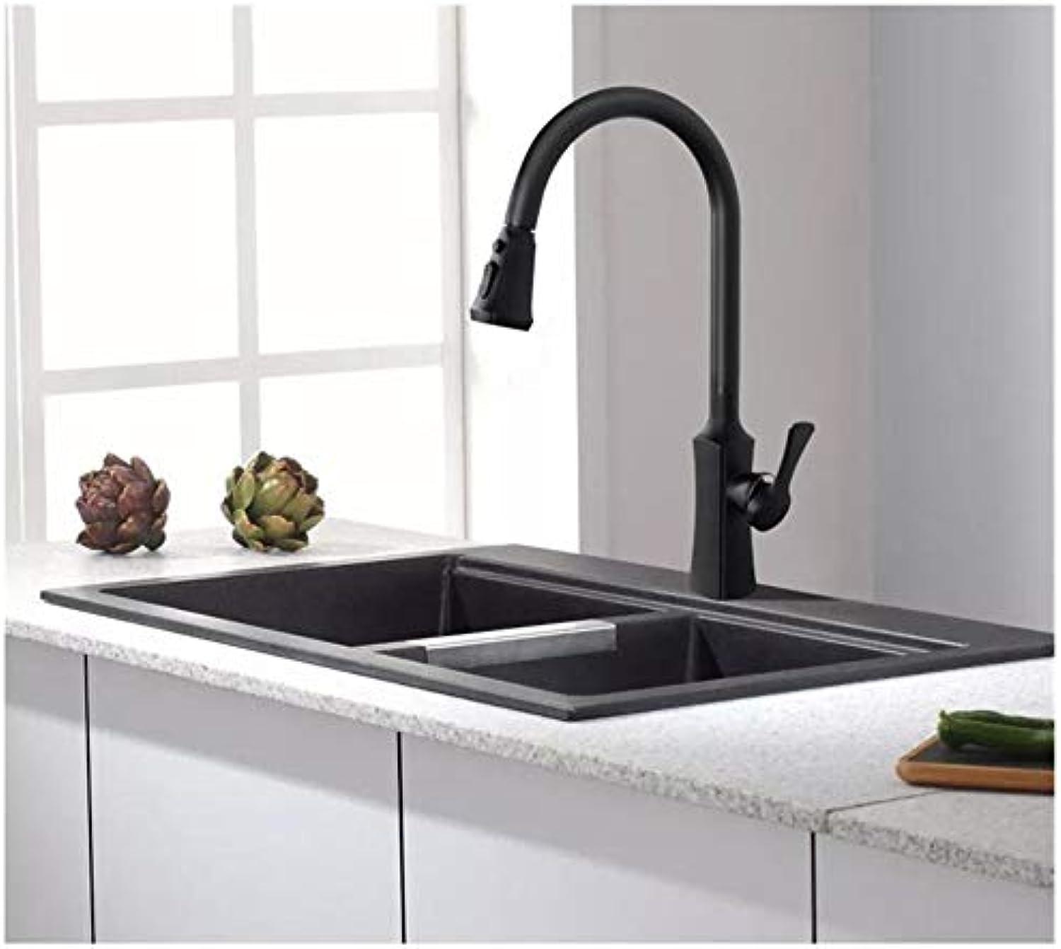 Herausziehen Küchenarmatur Schwarz Waschbecken Mischbatterie 360 360 ...