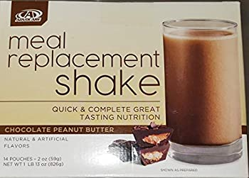 Advocare Meal Replacement Shake Chocolate Peanut Butter Box of 14 Single Serve Pouches