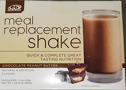 top rated Advocare Meal Replacement Shake, chocolate peanut butter, 14 bags per serving 2020