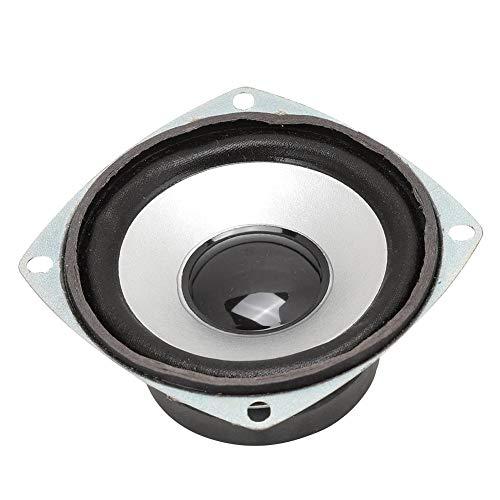 Vbestlife Altavoz de Audio de 3 Pulgadas, 4Ω, 15 W, Alta sensibilidad, Rango Completo, Doble Altavoz magnético para Altavoz Multimedia