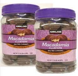 kirkland Signature Macadamia Clusters 32 oz x 2