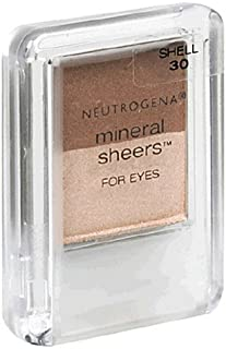 Neutrogena Mineral Sheers for Eyes, Shell 30, 0.12 Ounce (3.4 g) (Pack of 2)