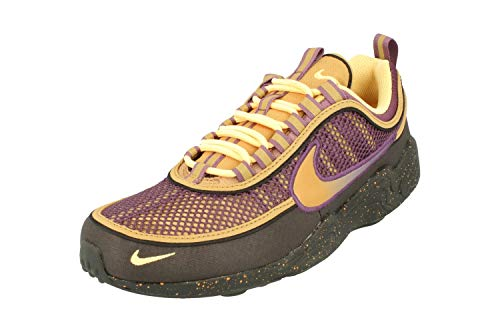 Nike Air Zoom Spiridon 16 Hombre Running Trainers 926955 Sneakers Zapatos (UK 10 US 11 EU 45, Anthracite Elemental Gold 005)