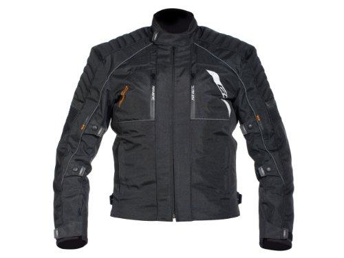 Motorradjacke textil DAKAR schwarz Gr. XS