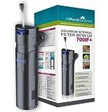 Filtre Aquarium Interne - 9w UV Stérilisateur - 700IF+ Tous en Un 150L