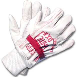 White Ox Elastic Band Rigging Gloves