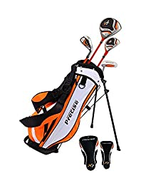 commercial A distinctive right-handed junior golf club kit for children 3-5 years old (3-3 feet 8 inches tall). Included in the set: … toddler golf set