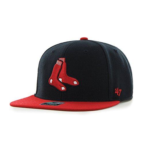 Boston Red Sox 47 marque Sure Shot deux tons MLB Casquette de baseball Hat