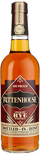 Rittenhouse Straight Rye Whisky 100 Proof Bottled-in-Bond (1 x 0,7 l)