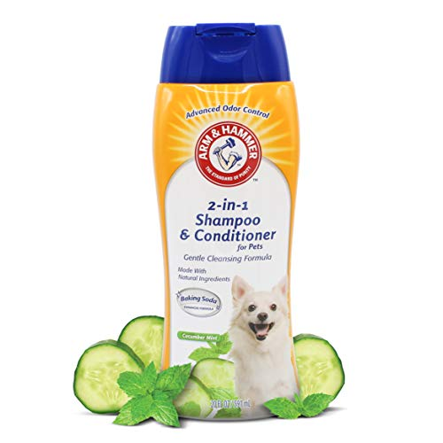 Arm & Hammer For Pets 2-In-1 Shampoo & Conditioner for Dogs, White, 20 Ounces - 1 Pack