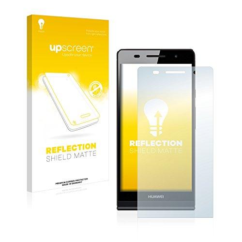 upscreen Entspiegelungs-Schutzfolie kompatibel mit Huawei Ascend P6 – Anti-Reflex Bildschirmschutz-Folie Matt