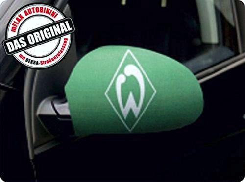 carstyling XXL Außenspiegelflagge CarBikini 2er-Set Bundesliga SV Werder Bremen ~ schneller Versand innerhalb 24 Stunden ~