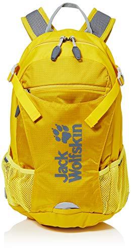 Jack Wolfskin Velocity 12 Bequemer Fahrradrucksack, Dark Sulphur, ONE Size