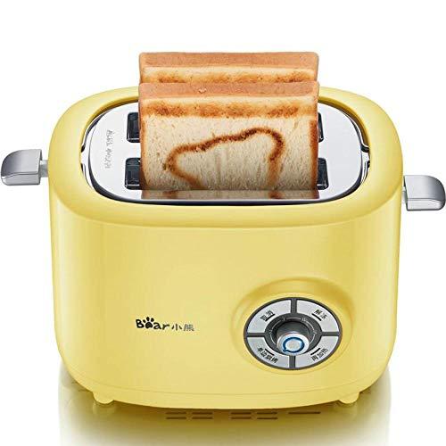 Mini Breakfast Makers Toaster 2 plakjes Thuis RVS kern Ontdooien opwarmen Anti-Stuck 6 Gears Eenzijdige Bakken Controle 1