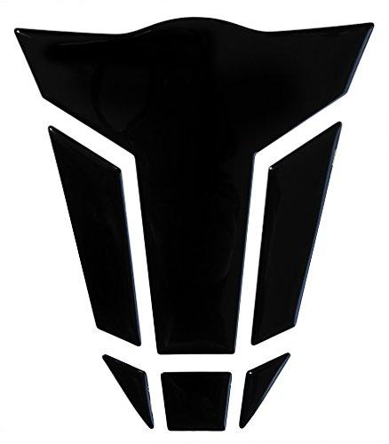Autocollant de réservoir 3D 502010VA - Noir