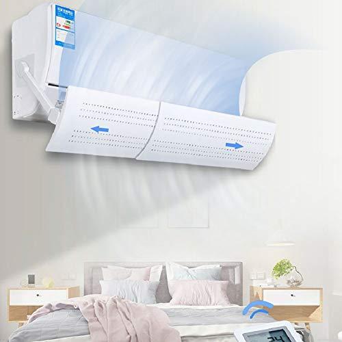 Anti-direktes Aufblasen für Klimaanlagen, Windabweiser für kalte Klimaanlage, Verstellbare Klimaanlage Windabweiser Universal Einziehbare Klimaanlage Windschutz