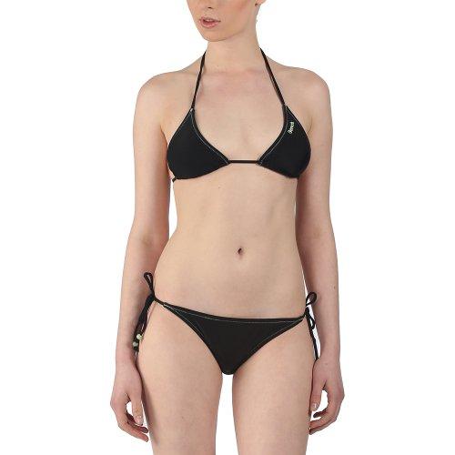 Bench Damen Bikinihose Bikini Cassie 2er Pack schwarz (Schwarz (Jet Black)) X-Large