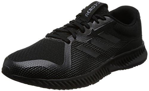 adidas Aerobounce Racer M, Zapatillas de Running Hombre, (Negbas/Negbas/Gricin), 40 2/3 EU