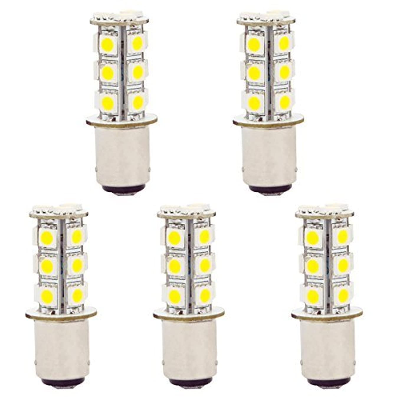 HERO-LED 1142-18T-CW Marine/Boat/RV Lights, LED Navigation Light Replacement Bulb, #1004, Cool White, DC10-30V, 5-Pack