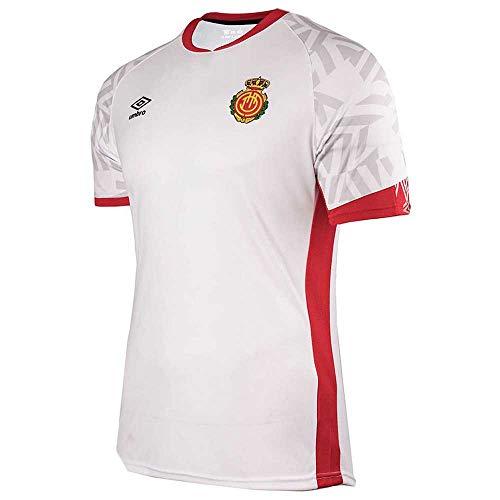UMBRO RCD Mallorca Segunda Equipación 2019-2020, Camiseta, Blanco, Talla XL