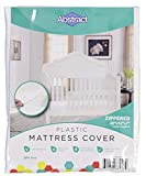 """Abstract Waterproof Mattress Cover – 28 x 52 x 8"""" for Standard Cribs & Toddler Beds – Heavy Duty Vinyl Plastic Protective Zippered Sheet, 100 GSM PVC, BPA Free – Long Lasting Quality & Comfortable."""