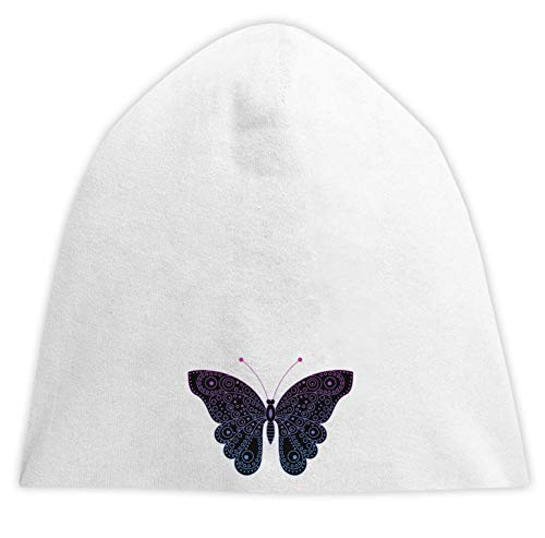 Butterfly Abstract Tribal Graphic Beanise Hood Unisex Breathable Cap Hat Bequemes Trikot One Size