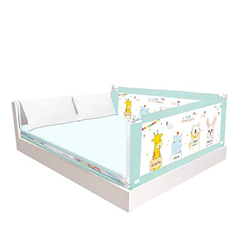 Fantastic Prices! Jdeepued Kids Bed Rail Fall On Baby Border Adjustable Guardrail Bed Crib Off Unive...