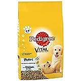 Pedigree Puppy Medium Dog Complete Dry Chicken & Rice 10kg