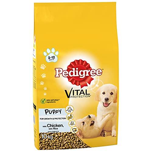 Pedigree Junior Dry Food With Chicken & Rice