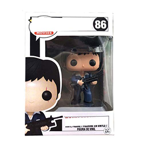 MILAOSHU Figura De Vinilo Pop De Gamer City - Tony Montana-Scarface Modelo...