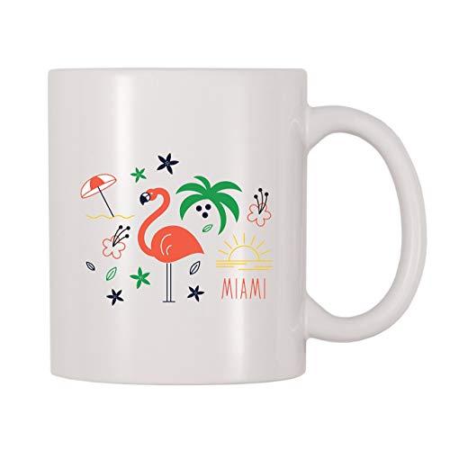 Taza de café Miami Flori-da (11 oz)
