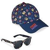 Paw Patrol Cappello Baseball, Cappello Bambino con Visiera e Occhiali da Sole con Protezione UV (Navy)