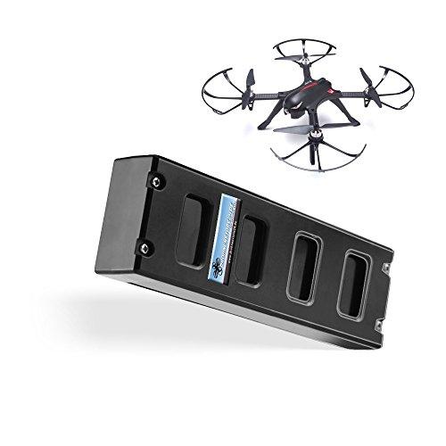 Unbekannt Ersatz Akku für MJX Bugs 3 Drohne 7.4V 1800mAh - Quadrocopter Ersatz