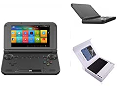 Support wi-fi wireless networking,playing games, listening to music, watching video, and shopping. Battery life lasts up to 8 hours when playing games. 5 inch touch screen,foldable and portable. Support Android Gravity and Touch games. Android7.0 OS ...