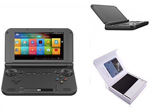 GPD XD Plus Foldable Handheld Game Consoles 5 Touchscreen, Android 7.0 Fast Mediatek MT8176 Hexa-core 2.1GHz CPU, 4GB RAM/32GB ROM, 6000mAh Li-ion Battery
